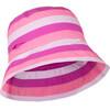 hyphen Birdy Hat Girls pink stripes